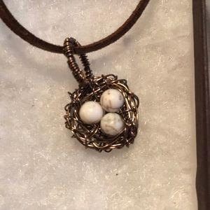 Jewelry - Handmade Birds Nest Necklace